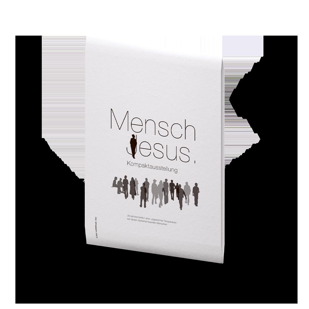 Spende für – Mensch Jesus Kompaktausstellung